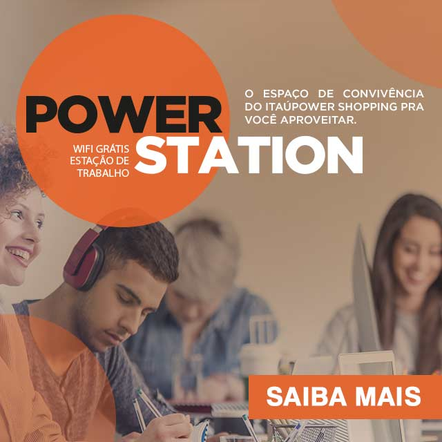 PowerStation, o coworking do ItaúPower Shopping 1